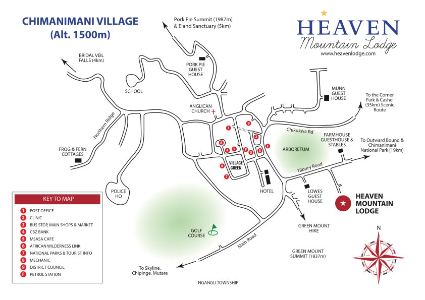 Chimanimani Map